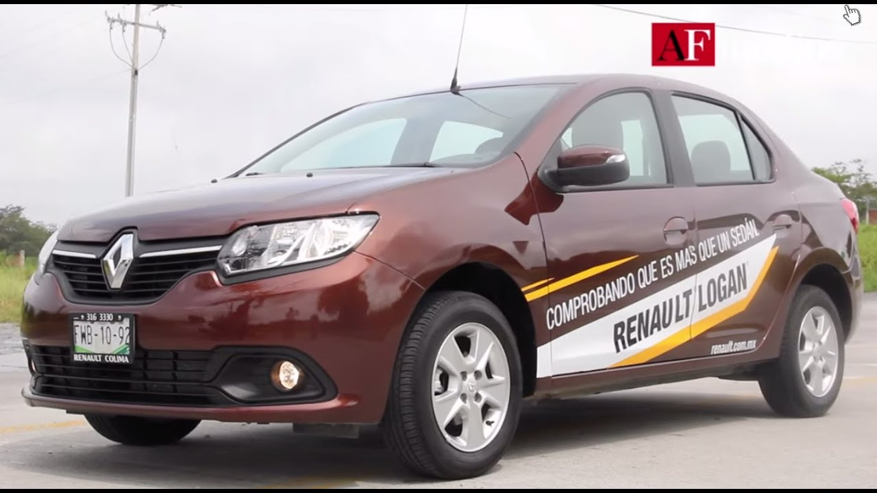 Renault Logan  Sed U00e1n Familiar Con Tecnolog U00eda Superior