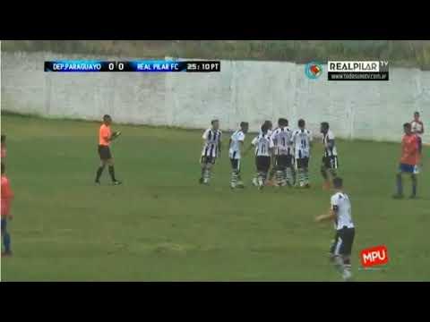 Dep Paraguayo 0 Real Pilar 1 - El gol de Javier Martinez