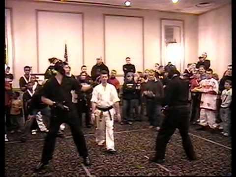 Shawn Iron Fist Hammond Fighting
