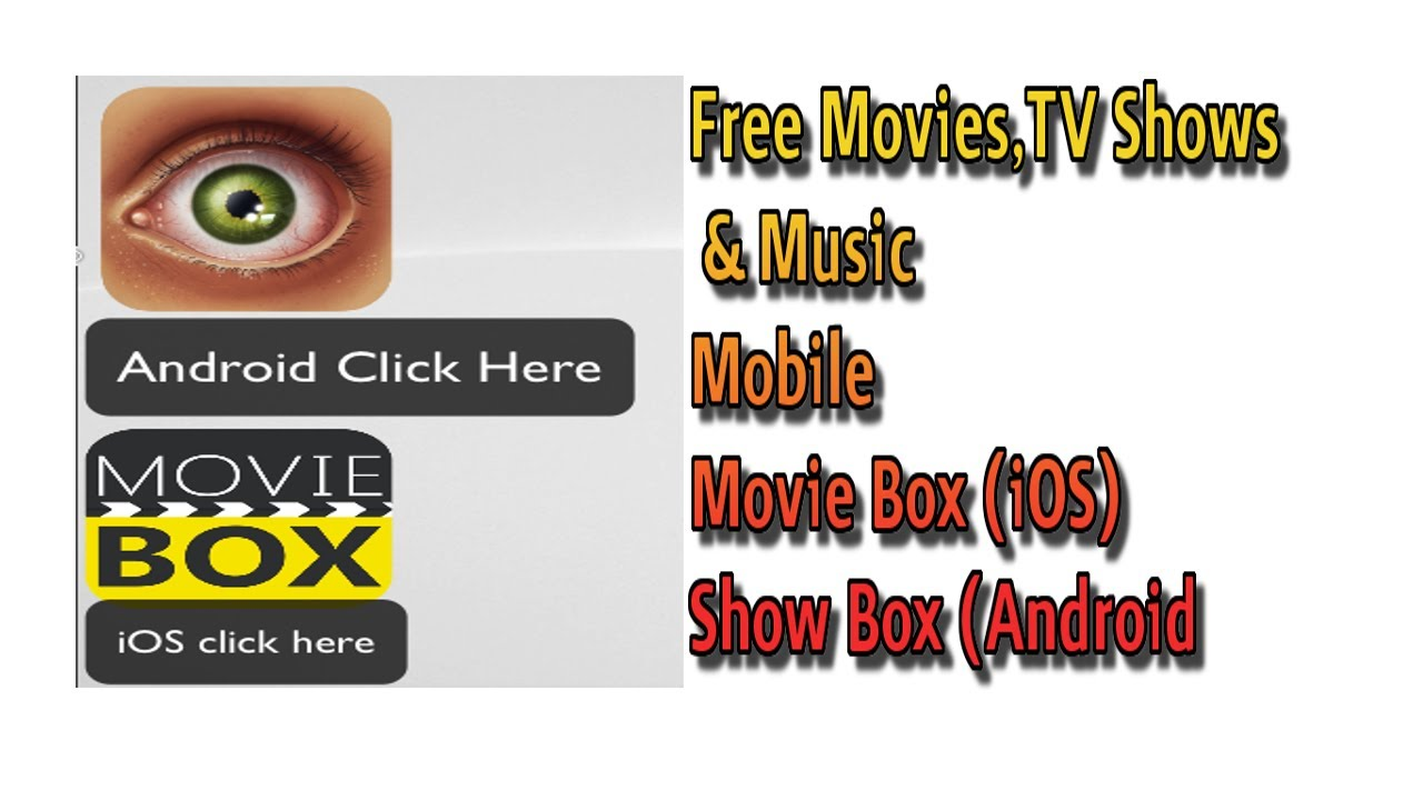 Movie Box Ios Show Box Android Free Multimedia On Mobile Youtube