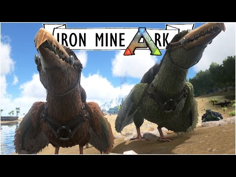 DOUBLE PELAGORNIS TAMING :: Ep. 44 :: Taming Giant Seagulls :: Iron Mine Ark :: UniteTheClans