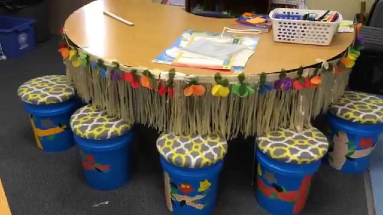 Classroom Bucket Seats  YouTube