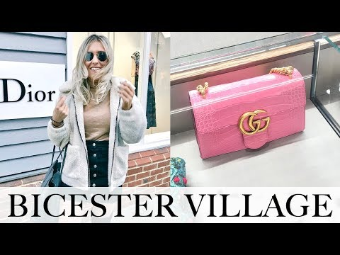 LUXURY SHOPPING AT BICESTER VILLAGE DESIGNER OUTLET 2018 + N