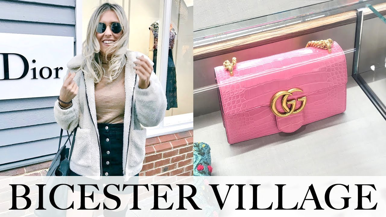 99ffb4fb74 LUXURY SHOPPING AT BICESTER VILLAGE DESIGNER OUTLET 2018 + NEW GIVENCHY BAG