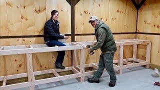 Husband & Wife Start their Next Big Project (WORKBENCH Build)