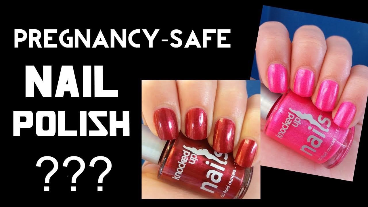 Knocked Up Nail Polishes-Pregnancy Safe Nail Polishes - YouTube