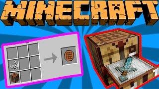 taşinabilir crafting table minecraft mod tanıtımı trke