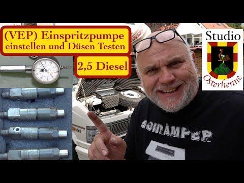 Wohnmobil Dieselmotor Einspritzdüsen Glühkerzen Einspritzzeitpunkt Einspritzpumpe Einstellen VEP
