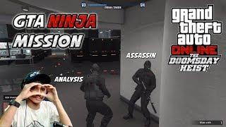 GTA MISI NINJA - DUO ASSASSIN KOPLAK BERAKSI (NGAKAK) | Doomsday Heist #5