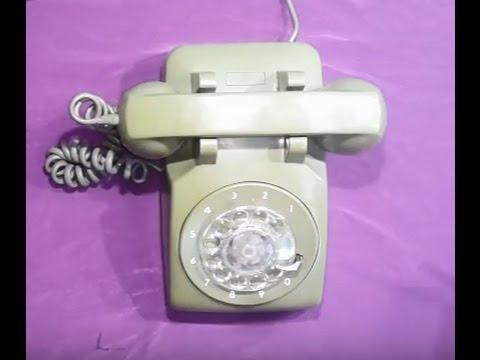 çevirmeli Klasik Telefon Nostalji Dial Up Telephone Nostalgia