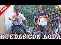 HINCHAMOS LAS RUEDAS DE MI BMX CON AGUA!! - Broma a un suscriptor