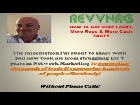 RevvNrg | The Key To More Leads, Reps & Success