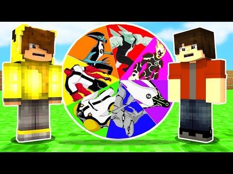 OMNİTRİX ÇARK ÇEVİRME OYNADIK! 😱 - Minecraft