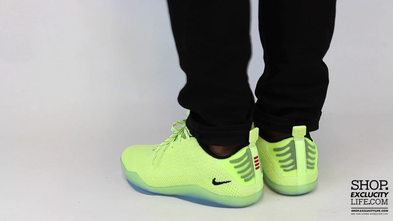 ae9517ca169 ... top quality nike kobe xi premium 4kb ghost of christmas past on feet  video at exclucity