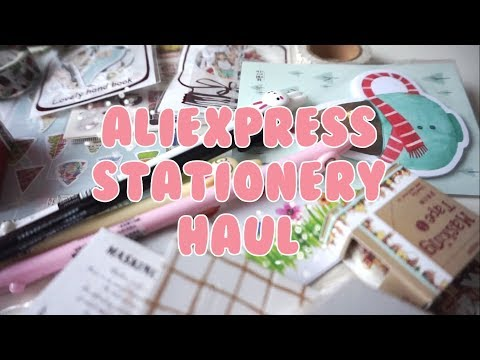 AliExpress Stationery Haul ♥
