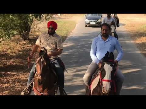 Long riders ride at sidhu farms Panj kosi