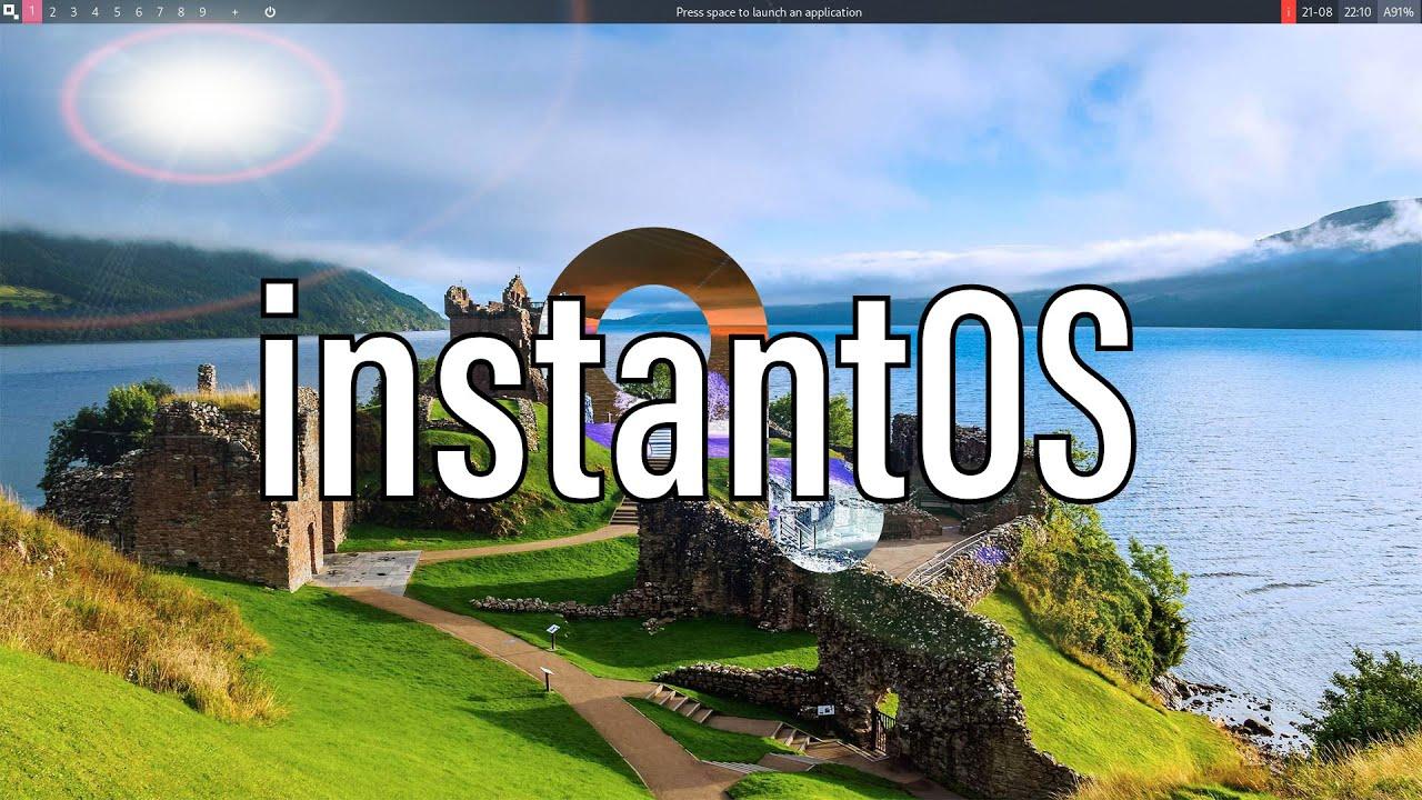 instantOS | Super Fast And Lightweight Distro