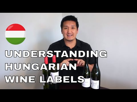 How to Read Hungarian Wine Labels