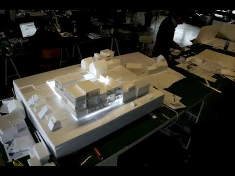 Iceland Academy of Arts - building model
