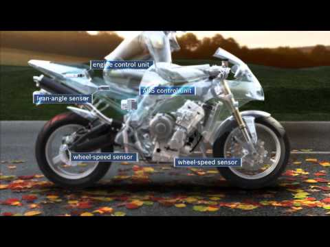 Motorcycle ABS with traction control: starting off