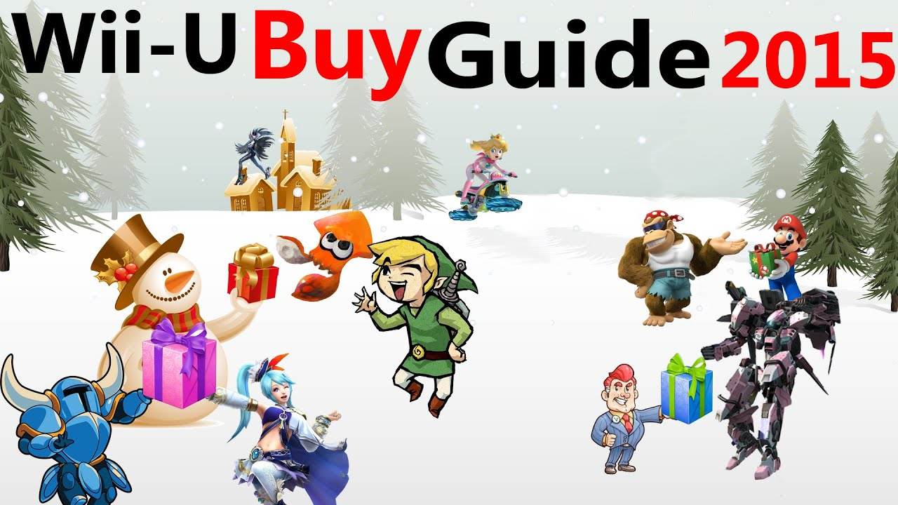 Best Wii U Games : Top games on wii u best holiday game gift guide