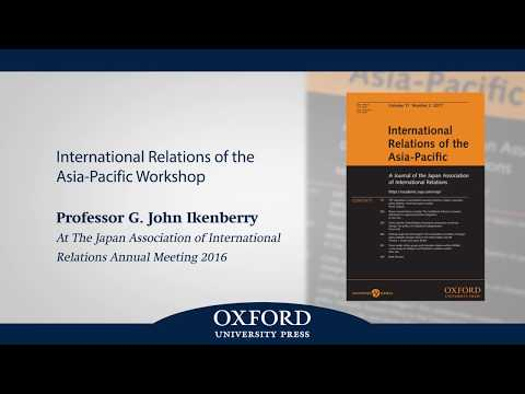 How to Succeed in the Internationalized & Fragmented Academic World? A Message from Prof. Ikenberry