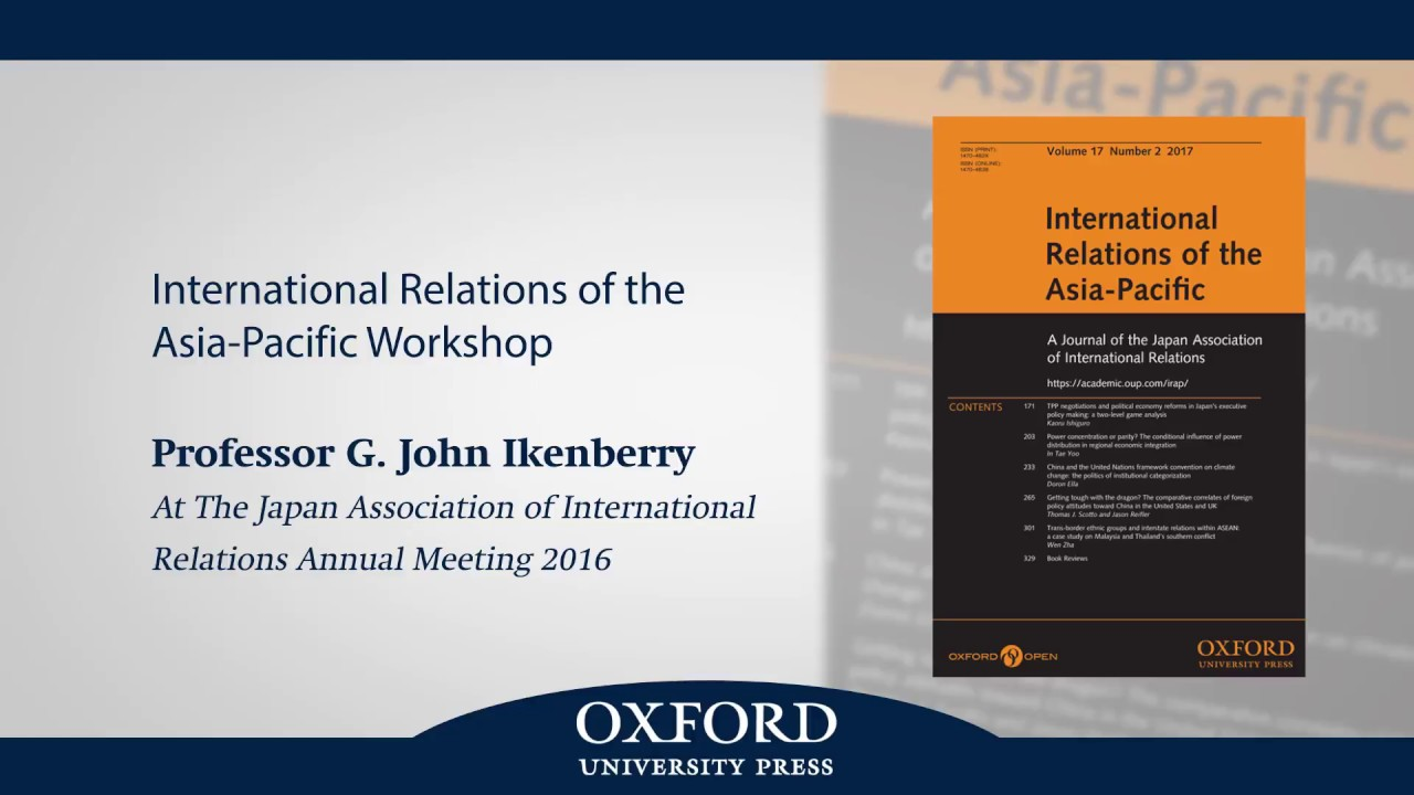 International Relations of the Asia-Pacific | Oxford Academic