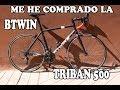 La bici de Carretera mas barata del mercado  - la Btwin Triban 500 - TND BIKE