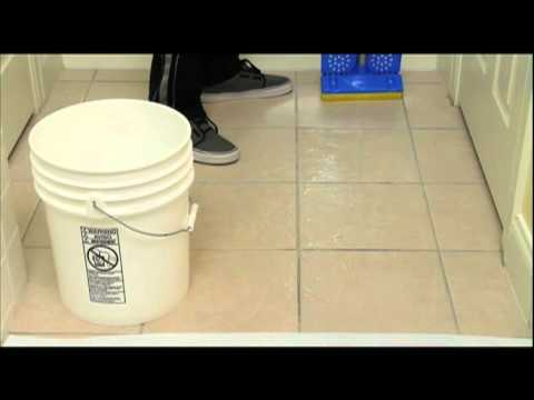 How To Make Your Tile Non Slip By Applying Johnny Grip Youtube