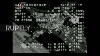 ISS: Russian spaceship Progress MS-02 heading back to earth following mission