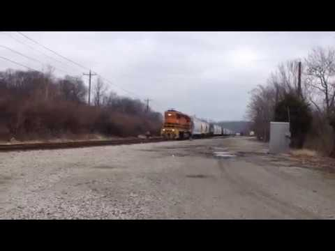 Genesee & Wyoming Indiana & Ohio Railway Yard Valley Junction!