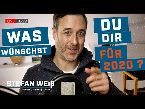 Happy New Year 2020 - Themenwünsche für Livestream   STEFAN WEISS