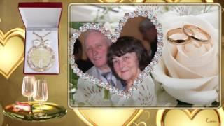 Золотая свадьба.  1967-2017гг. Песню исполняет Константин Дерр.