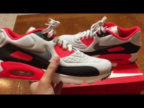 Nike Air Max 90 Infared Ultra SE Unboxing