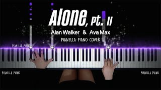 Alan Walker & Ava Max - Alone, Pt. II | Piano Cover by Pianella Piano
