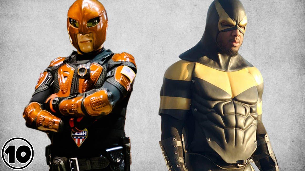 Top 10 Real Life Superheroes - YouTube