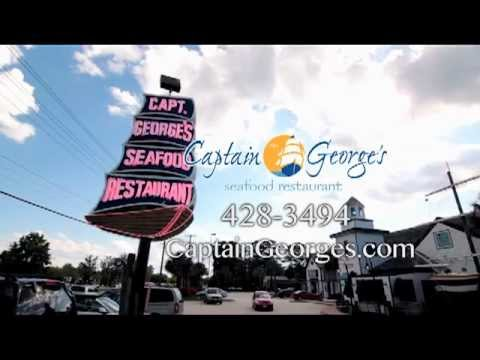 Captain Georges Seafood Restaurant Virginia Beach Va The Vacation Channel