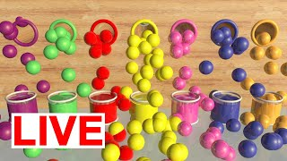 Learn Colors with Surprise Soccer Balls and Surprise Eggs For Kids   Preschool Learning Videos