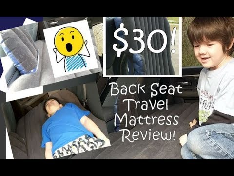 FBSPORT Car Air Mattress Review! $30 Back Seat Air Bed W/ Electric Pump