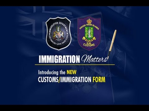 Immigration Matters - New Immigration Customs/Immigration Form7