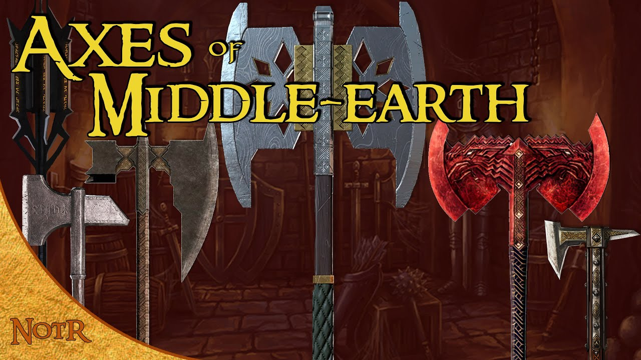 The Greatest Axes in Middle-earth | Tolkien Explained