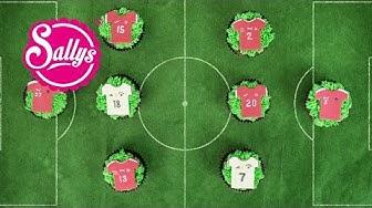 Fußball EM Muffins mit Trikot-Aufleger / EM 2016 Frankreich / Sallys Welt