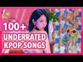 100+ UNDERRATED K-POP SONGS FROM 2018