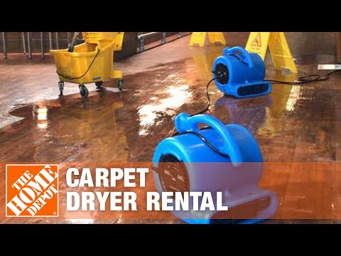 Carpet Dryer Rental | The Home Depot
