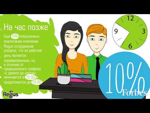 Практика гибкого графика в России