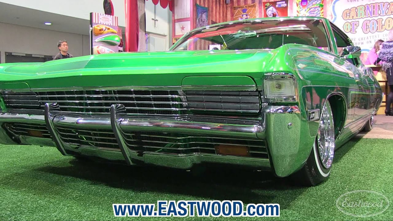 Cool 1968 Caprice Lowrider At Sema Eastwood Youtube