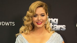 Sasha Pieterse Gets EMOTIONAL & Explains Weight Gain On DWTS
