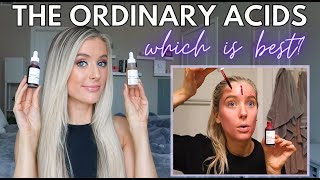 The Ordinary AHA 30% + BHA 2% Peeling Solution vs. Lactic Acid 10% + HA Review