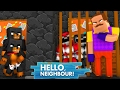 Minecraft Baby Hello Neighbour - MIGHTY MORPHIN POWER RANGERS - Baby Max Games and Gaming