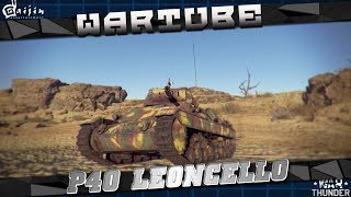 P40 Leoncello танк - ИТАЛЬЯНСКАЯ МАФИЯ в War Thunder 1.73